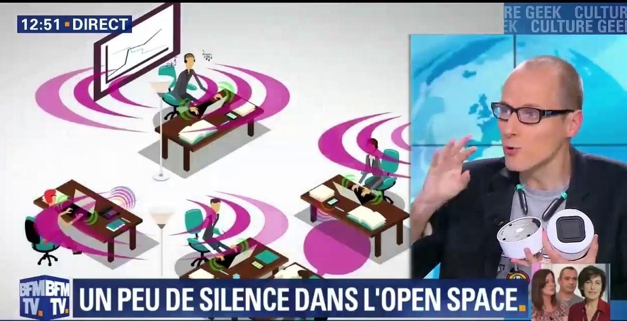 Silent Space sur BFM TV !